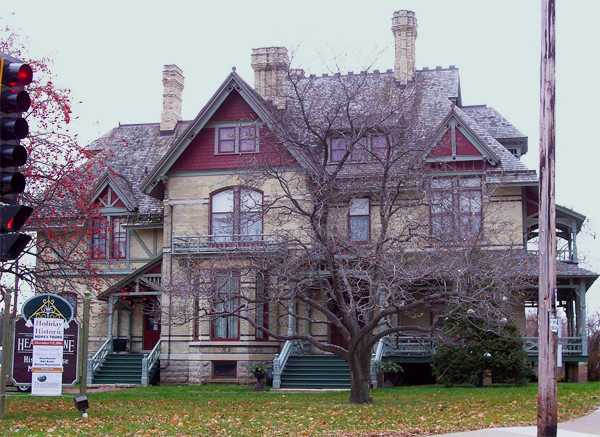 The historic Hearthstone House in Appleton, Wisconsin.