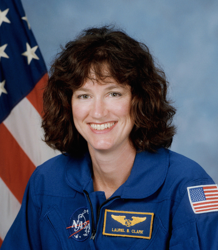 Laurel Blair Salton Clark was born on March 10, 1961 in Ames, Iowa but considered Racine, Wisconsin to be her hometown.