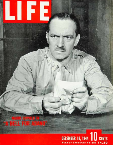 Fredrick March on cover of LIFE magazine.
