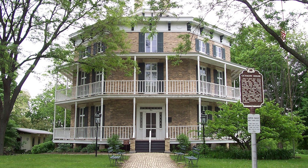 Watertown, Wisconsin  Octagon House.